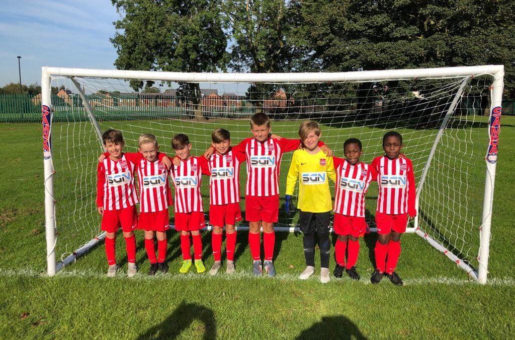 We're sponsoring FC St Helens under 10's!