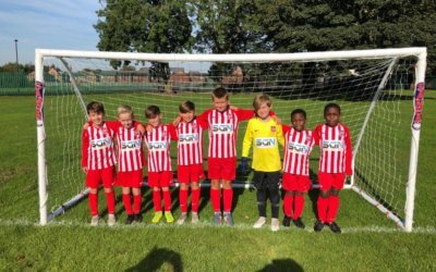 We're sponsoring FC St Helens under 10's!